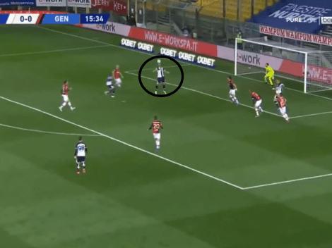 Video: Pellè la paró de pecho y metió un golazo infernal de chilena para Parma