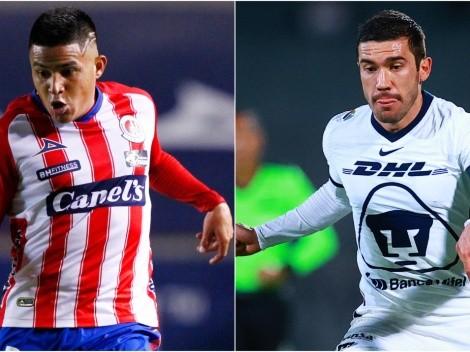 Atlético San Luis host Pumas UNAM in Round 12 of Liga MX 2021