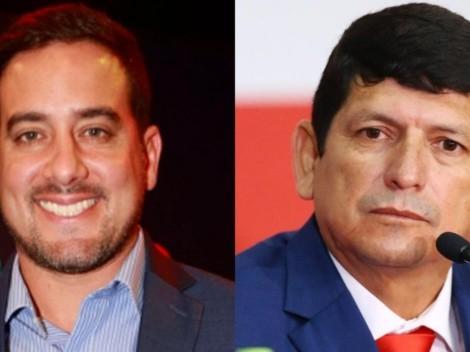 Óscar Del Portal revela que Agustín Lozano se opone a descenso de Carlos Stein