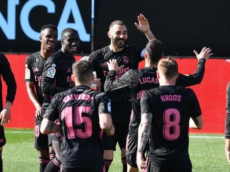 Siempre Benzema: doblete al Celta y triunfo del Real Madrid, que quedó a tres del Atleti
