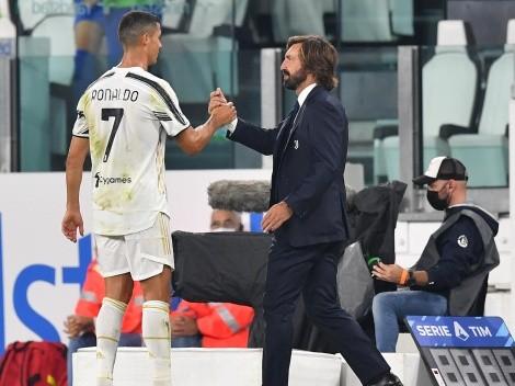 Pirlo, contundente sobre el futuro de Cristiano Ronaldo en Juventus
