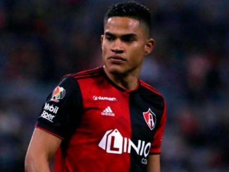 Otro gol peruano: Anderson Santamaría anotó con Atlas en la Liga MX