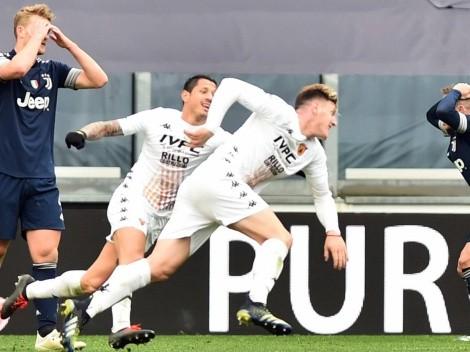 Gianluca Lapadula fue parte del triunfo de Benevento sobre la Juventus