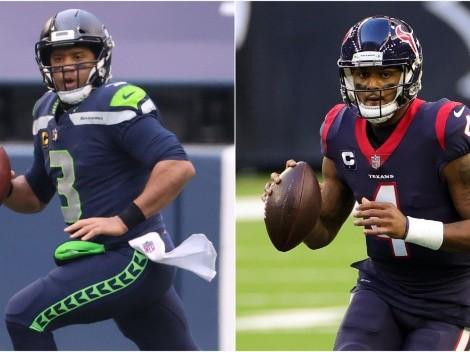 Wilson con protección y Watson en el limbo: la agencia libre de la NFL 2021