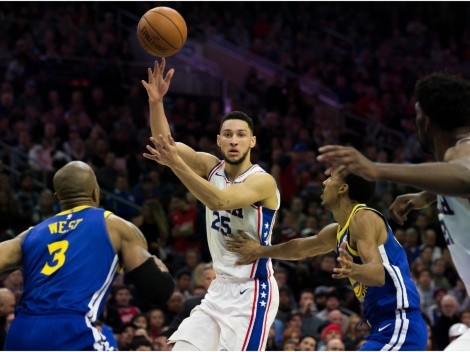 Ben Simmons and the Sixers travel to the Bay to face the Warriors