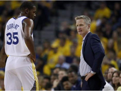 Steve Kerr destroys the media over alleged shot at Kevin Durant