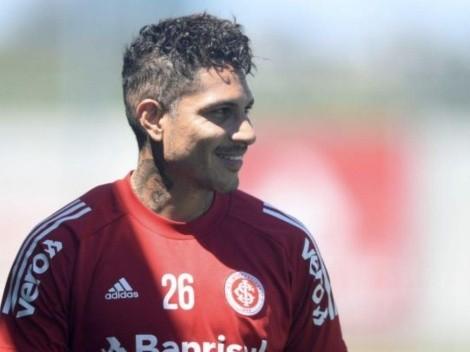 Es todo felicidad: Inter de Porto Alegre subió fotazo de Guerrero entrenando