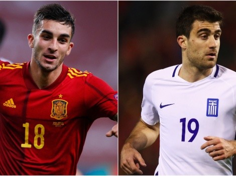 Spain welcome Greece at the European World Cup Qualifiers