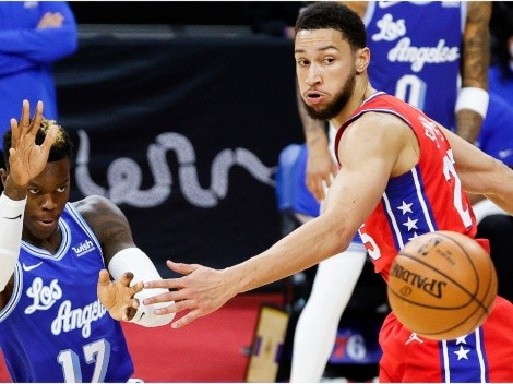 Ben Simmons and the Sixers visit the depleted Los Angeles Lakers