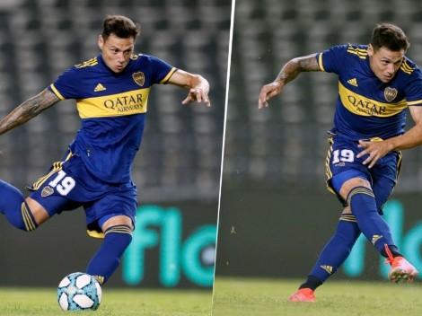 Una clase de cómo pegarle de penal: Zárate puso el 1-0 para Boca
