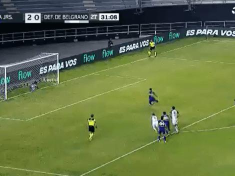 Video: otra vez de penal, Zárate demostró su calidad poniendo el 3 a 0 para Boca