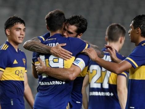 """Boca tiene tanto caos que Mas hasta va de """"9"""" y hace un gol: así fue el 2-0"""