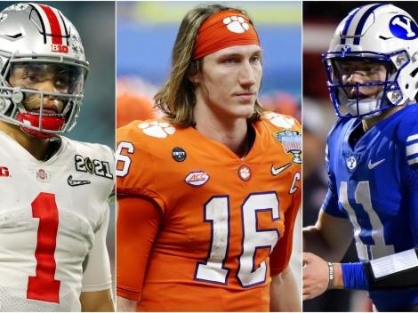 Los mariscales de campo que serán elegidos en primera ronda del Draft 2021 de NFL