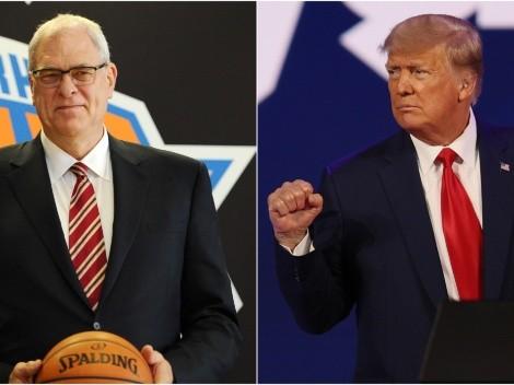 El 'Donald Trump' de la NBA: Phil Jackson ataca a los medios de comunicación