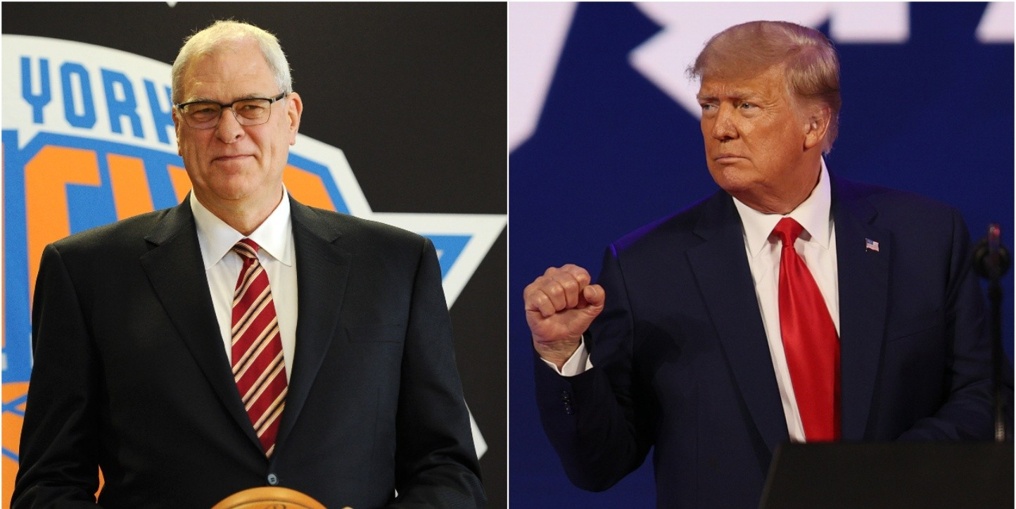 Phil Jackson y Donald Trump