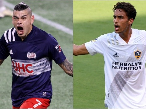 The Revs and Galaxy meet in a Club Friendly before the start of the new MLS season