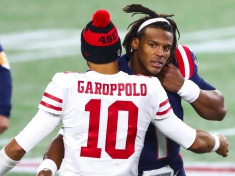 Newton no convence: Patriots de Belichick seguirían interesados en Garoppolo