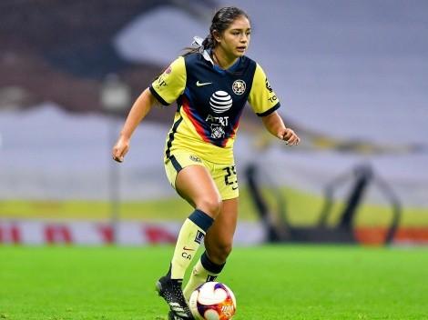 Jana Gutiérrez mostró su coraje en el Clásico Femenil