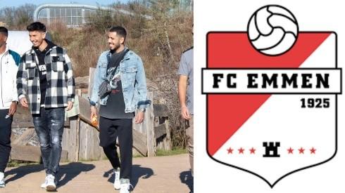 Rhyner, Aruajo, Peña y La Torre juegan en el Emmen Fc.