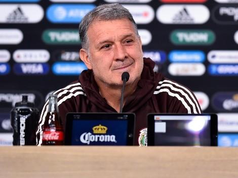 Tata Martino y sus números con la Selección de México
