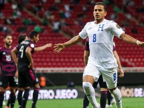 El Tri pierde ante Honduras con un golazo de Edwin Rodríguez