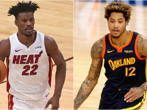 Miami Heat and Golden State Warriors clash in the NBA