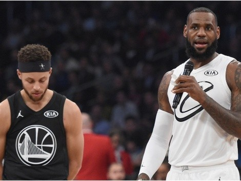 ESPN analyst says LeBron James is recruiting Stephen Curry to the Lakers