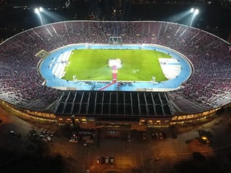 Los estadios más grandes del fútbol chileno