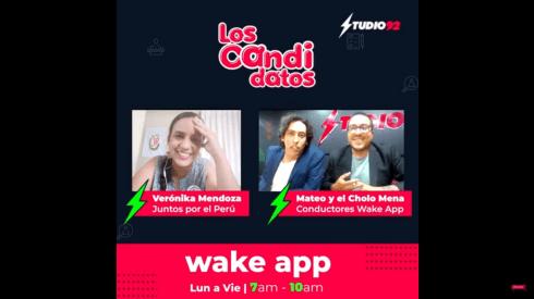 Verónika Mendoza es la candidata de Juntos por el Perú.