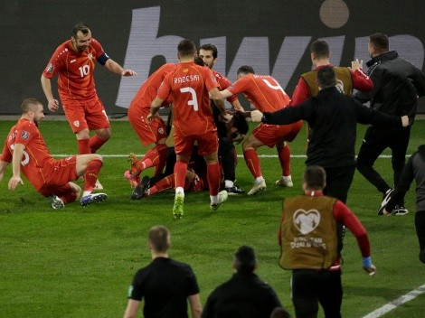 Alemania no perdía por Eliminatorias desde 2001: ¡le ganó Macedonia del Norte!