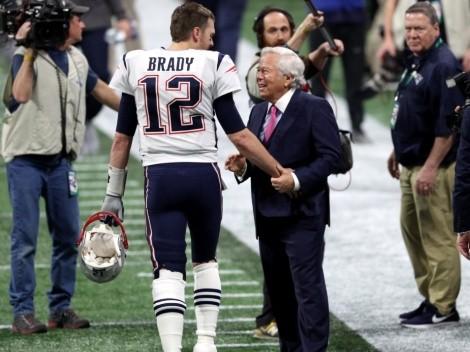 No lo puede olvidar: dueño de New England Patriots recuerda con afecto a Tom Brady