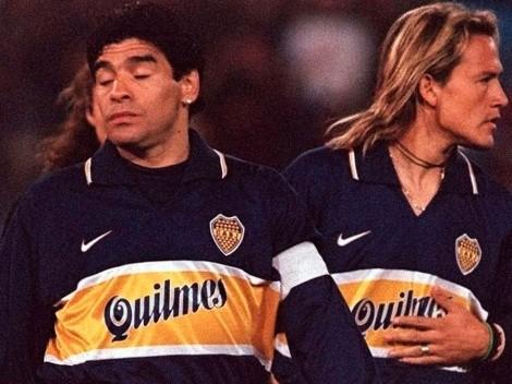 Aniversario 116 de Boca Juniors: El inolvidable paso del 'Matador' al lado de Maradona