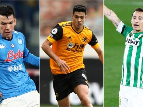 The best Mexican players in European leagues