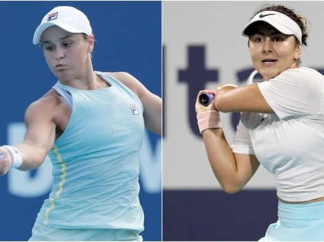 Ashleigh Barty and Bianca Andreescu face off in the WTA Miami Open Final