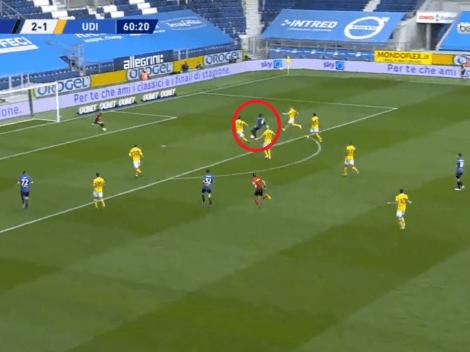 Faltaba el del 'Toro': Duván Zapata, a pura fuerza, se acomodó y metió el 3-1