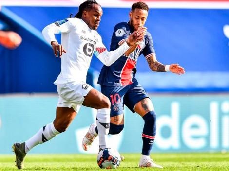 El peor sábado de PSG: echaron a Neymar, perdió con Lille y no es más líder