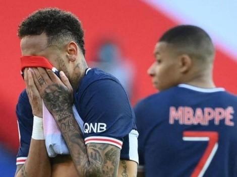 Neymar é expulso e PSG perde o clássico e a liderança para o Lille no Campeonato Francês