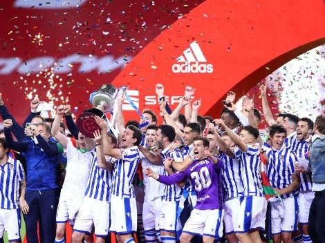 Real Sociedad ganó la 'final vasca' y se quedó con su tercera Copa del Rey