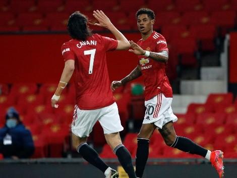 Manchester United reaccionó a tiempo, venció a Brighton y sigue vivo