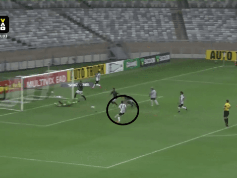 Nacho Fernández hace sufrir a todo River: doblete para Atlético Mineiro