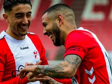 Después de su partidazo, Sergio Peña recibió buenas noticia en la Eredivisie