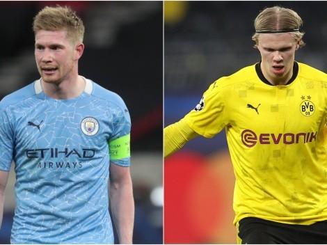 Manchester City host Borussia Dortmund in first leg of UCL quarterfinals