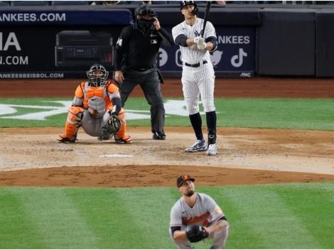 ¡Descomunal! Giancarlo Stanton despertó con soberbio grand slam en el Yankees-Orioles