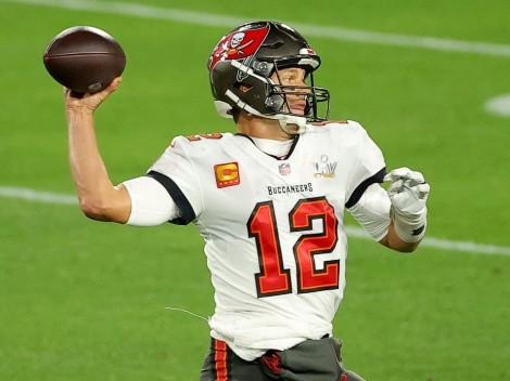 Tom Brady's single-season touchdown passes record