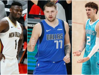 Zion Williamson, Luka Doncic y LaMelo Ball