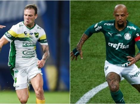 Defensa y Justicia and Palmeiras face off in the 2021 CONMEBOL Recopa Sudamericana