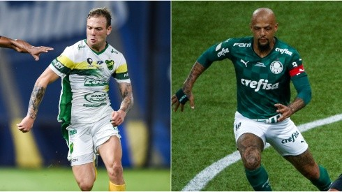 Defensa y Justicia and Palmeiras face off in the CONMEBOL Recopa (Getty).
