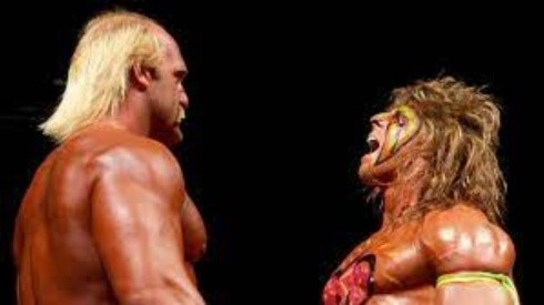 The Ultimate Warrior vs. Hulk Hogan (WWE)