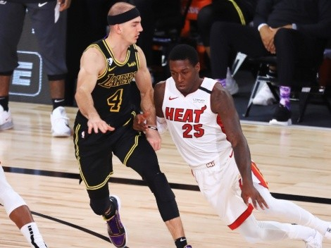 Battle of both fifth places: Miami Heat face Los Angeles Lakers in the NBA