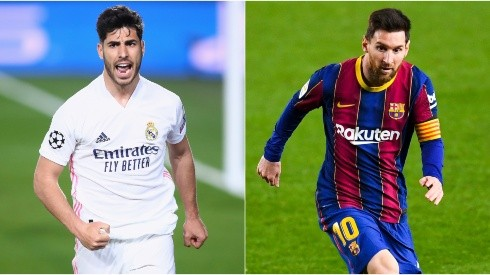 Real Madrid and Barcelona clash in an exciting Clasico in La Liga 2020/21 (Getty).